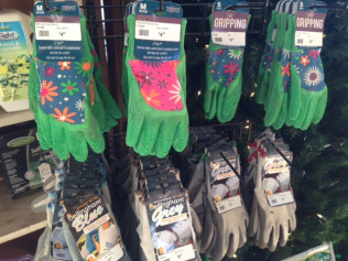 Select Garden Gloves: 50% off